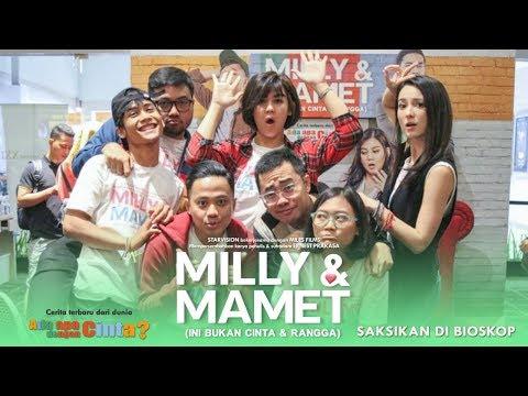 download lagu MILLY & MAMET (Ini Bukan Cinta & Rangga) - Nobar Di Depok & Media Visit gratis
