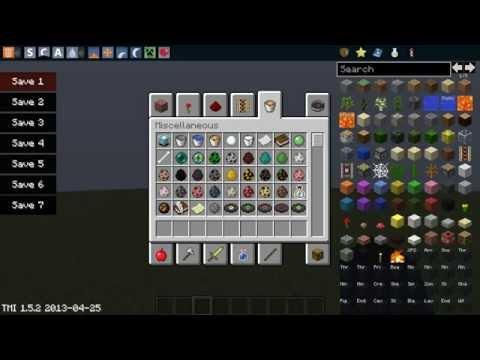 Descargar e Instalar TooManyItems (Sin Forge) | Minecraft - 1.5.2