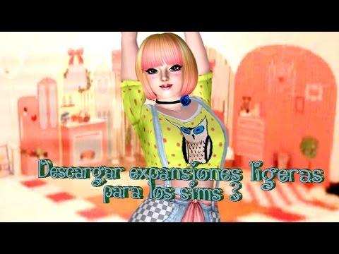 Descargar expansiones ligeras en Los Sims 3 2017