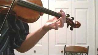Fiddle Scales - Learn how to Play the A Major Scale