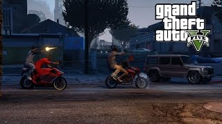 GTA 5 Crips & Bloods Part 18 [HD] RockStar Editor