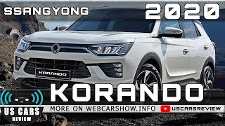 2020 SSANGYONG KORANDO Review Release Date Specs Prices