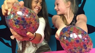 DIY Giant Orbeez Stress ball.  Super easy And Fun.