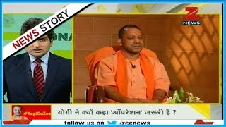 DNA: UP CM Yogi Adityanath in conversation with Sudhir Chaudhary