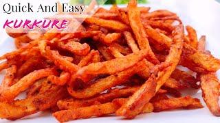 ടപ്പേന്ന് ഒരു കുർ കുറേ???? എപ്പോ തീർന്നെന്നു പറഞ്ഞാ മതി||Potato Kurkure Home Made