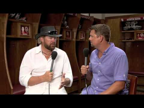 Toby Keith on the Oklahoma Twister Benefit