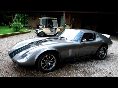 Ford 65 Daytona Coupe Factory Five Replica Kit Car Teaser