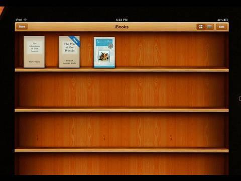 iBooks App and Store for iPad (Review)