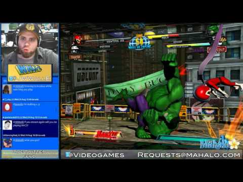 [HD / PS3] Marvel vs Capcom 3 - WallE Plays LIVE!: 8/24/11 - pt 1