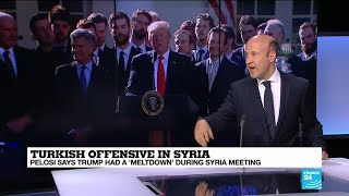 Syria quotTrump, in his words, is undercutting the mission of Mike Pence and Mike Pompeoquot