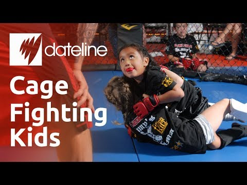 With children as young as six fighting each other in cages, Dateline looks at the growing popularity, and controversy, of the US sport. For more on Thai Neave's report, go to the SBS Dateline...