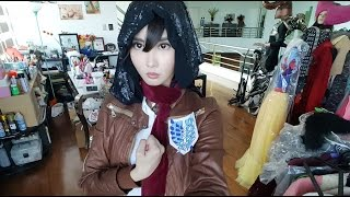 My Low Cost Mikasa Cosplay Process - Alodia