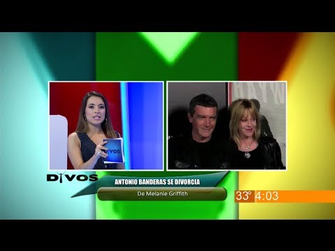Divos - Antonio Banderas se divorcia de Melanie Griffith