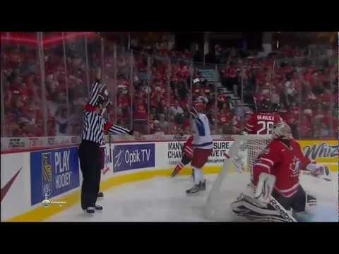 МЧМ 2012 (U-20) Канада - Россия 5:6 (полуфинал)