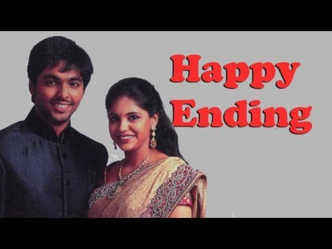 Happy Ending - Tamil film Music Director G.V. Prakash Kumar Weds Singer Saindhavi