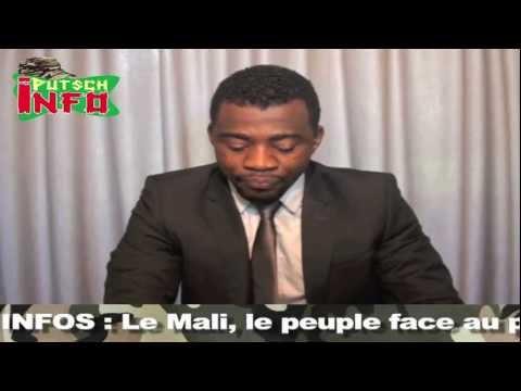 Putsch Info : Le Mali, le peuple face au putsch (Amadou Sanogo ) #1.mov