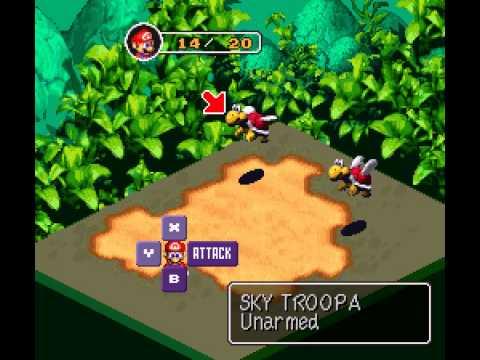 Super Mario RPG - Legend of the Seven Stars - Super Mario RPG  - Legend of the Seven Stars (SNES) - Vizzed.com Laggy Play - User video