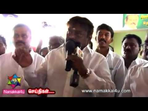 Vijayakanth Speech video