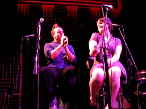 Gabe Violett & Emma Hunton sing Baby Its Cold Outside Joes Pub 12-29-08