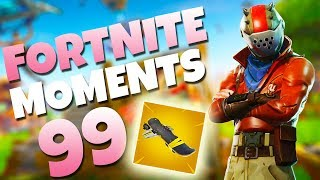 FIRST EVER HOVERBOARD IN BATTLE ROYALE!! | Fortnite Daily Funny and WTF Moments Ep. 99