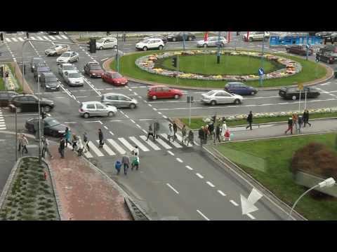 Przejście dla pieszych w centrum Rzeszowa