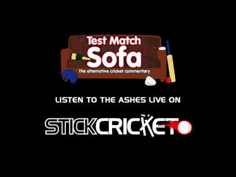Live Ashes commentary brought to you by Test Match Sofa and Stick Cricket