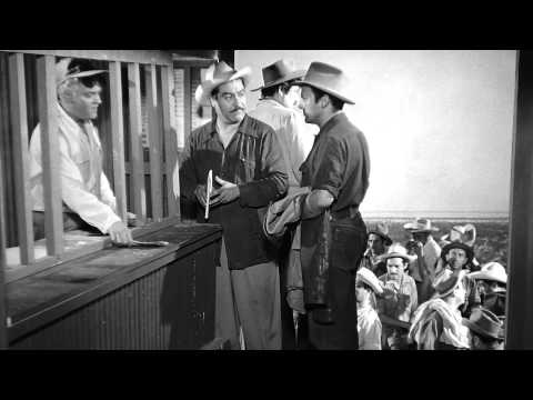 Espaldas Mojadas (1955) David Silva, Víctor Parra, Martha Valdés   Trailer   Cine Cásico