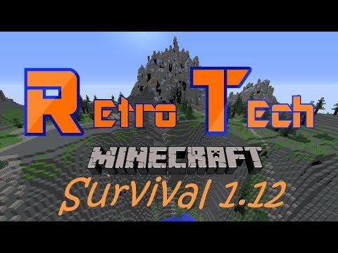 RetroTech | Survival | 1.12 | MINECRAFT SERVER