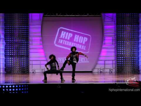Les Twins - France | Performance  Hhi's 2012 World Hip Hop Dance Championship video