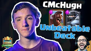 Clash Royale: Behind the Deck - CMcHugh's MegaKnight Hog Rider Deck is Unbeatable