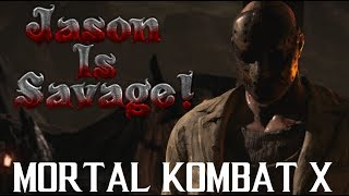 HAPPY FRIDAY THE 13TH!! | JASON IS SAVAGE: MORTAL KOMBAT X (MKX)
