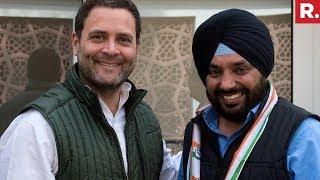 Arvinder Singh Lovely Meet Rahul Gandhi, Rejoins Congress