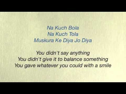 Rab Ne Bana Di Jodi - Tujh Mein Rab Dikhta Hai Lyrics & Translation...