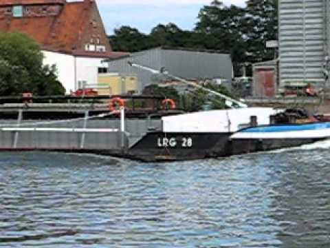 Germany River Ship (Barge)