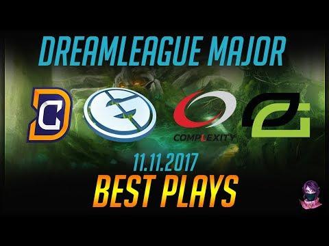 DreamLeague S8 Major - BEST PLAYS - 11.11.2017 Highlights Dota 2 by Time 2 Dota #dota2