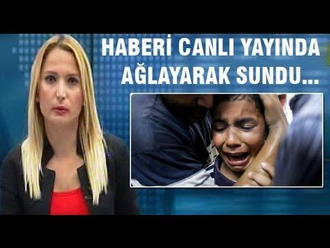 Ülke TV Spikeri Gözyaşlarını Tutamadı