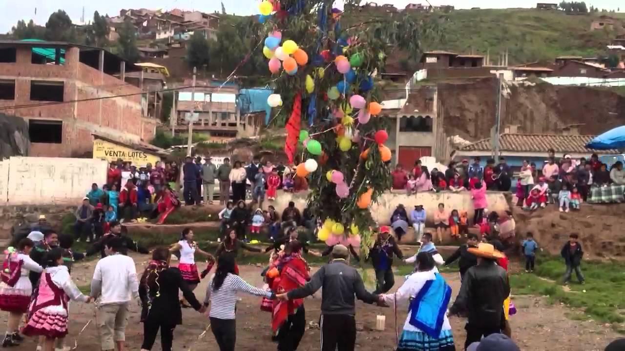 Yunza Carnival In Peru Youtube
