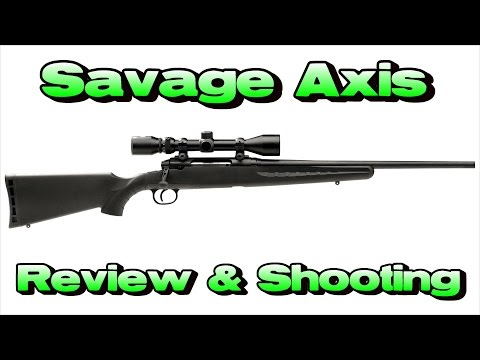 Savage Axis Review + Shooting