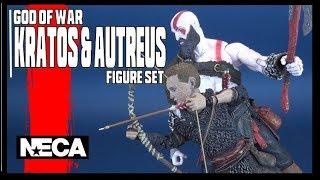 God of War Kratos & Atreus | NECA Toys Ultimate Two-Pack Review #GodOfWar