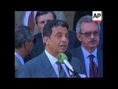 Israel - Amr Moussa Visits Jerusalem