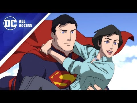 DEATH OF SUPERMAN: Exclusive Clip! + New Wonder Woman Writer Revealed | DCAA2018-PL