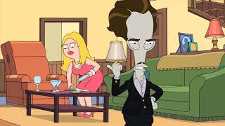 American Dad Funny Moment   Steve wears Hayley's slit underwear