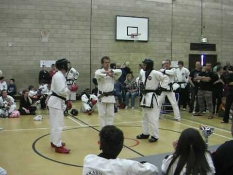 Tang Soo Do Sparring Round 1 Image 1