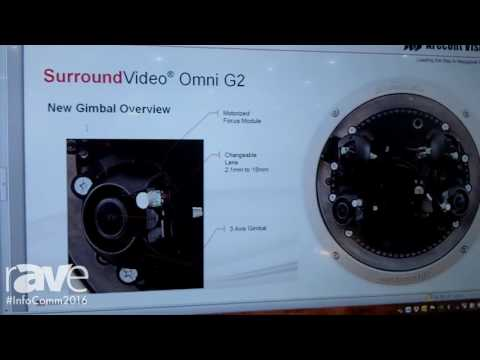 InfoComm 2016: Arecont Vision Demos Omni Sensor Security Camera