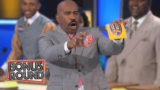 BOOB Answers From Family Feud Steve Harvey Can't Believe What He's Hearing!