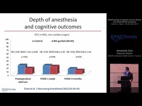 Anesthesia Care - Enhanced Recovery after Surgery (ERAS®)