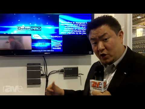CEDIA 2013: Gefen Shows rAVe Their MultiView Product
