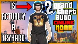 Pretending to be a Noob in GTA Online