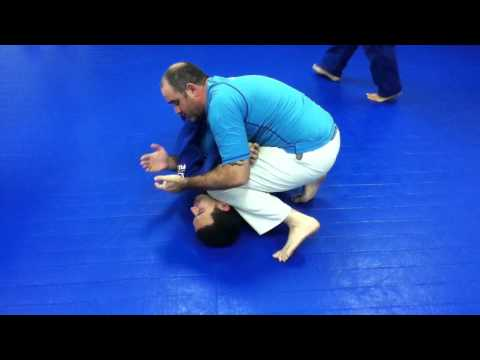 BJJ Houston / MMA Houston / Kickboxing Houston 77095  Elbow Crank - Bridge Escape Counter Image 1