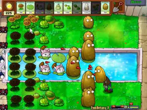 Plants Vs Zombies - Minigame Zombotany 2